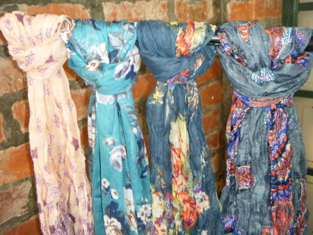 Scarves from R50.00