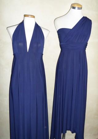 0391 Navy @ R520.00   Infinity Dress